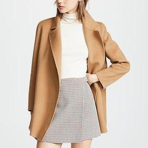 NWT Theory Camel Sileena Coat, Size P